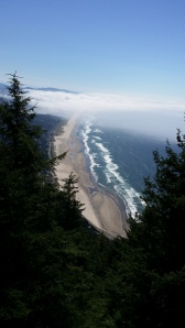 View of Manzanita Beach from Neahkahnie Mtn.